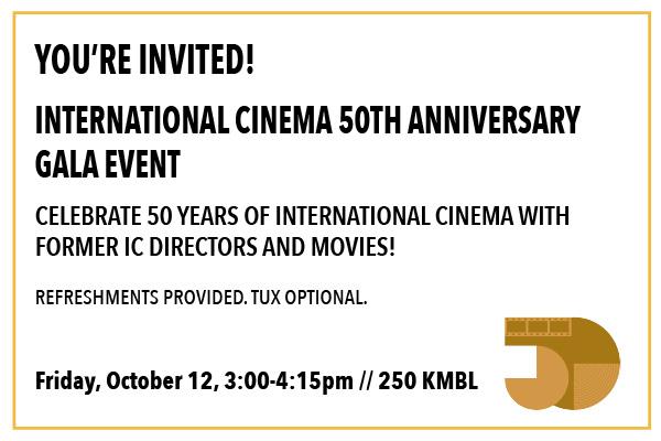 IC 50th Anniversary Gala